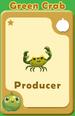 Producer Green Crab A