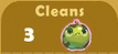 Cleans 3x A
