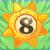 Sun bomb 8 on grass