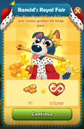 RRF Prizes 10 Gold Bars and 2 Hours unlimited lives