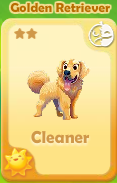 Cleaner Golden Retriever