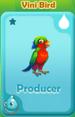 Producer Vini Bird