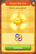 2nd stage rewards - 2500 suns
