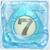 Water bomb 7 under ice