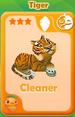 Cleaner Tiger