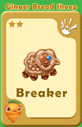 Breaker Ginger Bread Sheep A