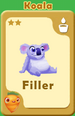Filler Koala A