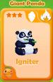 Igniter Giant Panda