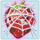 Strawberry grumpy under cobweb