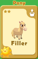 Filler Pony A
