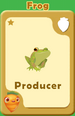 Producer Frog A