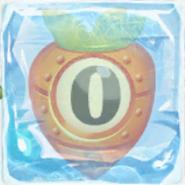 Carrot bomb 0 under ice