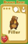 Filler Brown Bear A