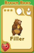 Filler Brown Bear A