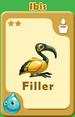 Filler Ibis A