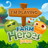 I'm playing Farm Heroes