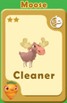 Cleaner Moose A