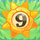 Sun bomb 9 on grass