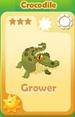 Grower Crocodile