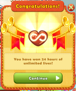 24 hours of unlimited lives (YAM)