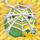 Apple under cobweb on hay 3x