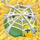 Apple under cobweb on hay 9x
