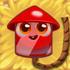 Firecracker 3-stage on hay