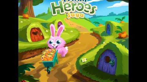 Official Farm Heroes Saga - Rob the Rabbit