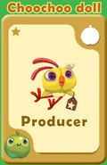 Producer Choochoo Doll A