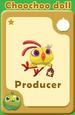 Producer Choochoo Doll A