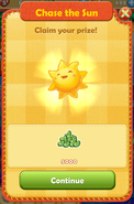 1st stage rewards - 1500 suns