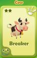 Breaker Cow