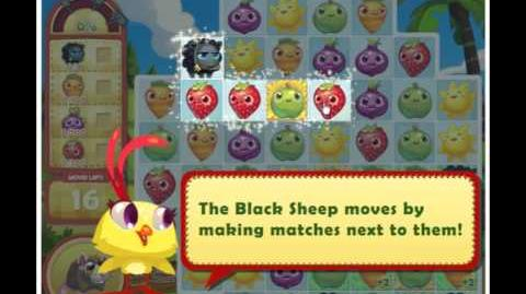 Official Farm Heroes Saga - The Black Sheep