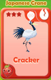 Cracker Japanese Crane
