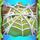 Apple under cobweb on bridge