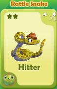 Hitter Rattle Snake