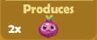 Produces 2x Onions