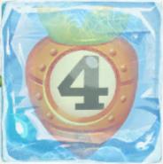 Carrot bomb 4 under ice