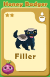Filler Honey Badger A