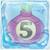 Onion bomb 5 under ice