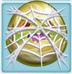 Alligator egg 2-stage under cobweb