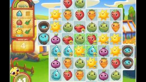 Farm Heroes Saga Level 122 on Facebook