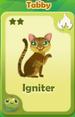 Igniter Tabby