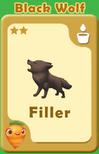 Filler Black Wolf A