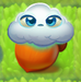 Cloud 2-stage on nut