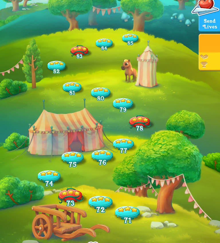Farm Heroes Saga Map