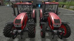 FS17 Zetor-ForterraHD WheelComparison