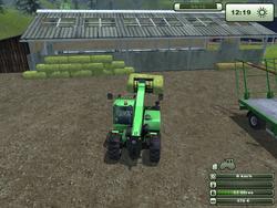 FS13 square hay bales