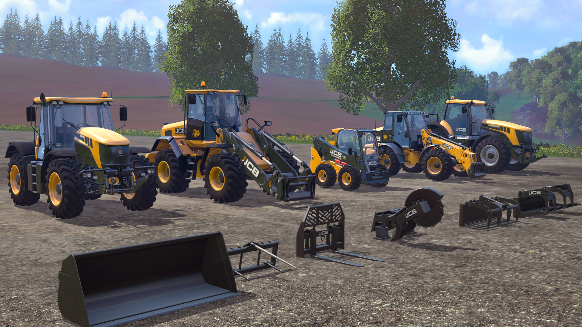 JCB DLC (Farming Simulator 15) | Farming Simulator Wiki