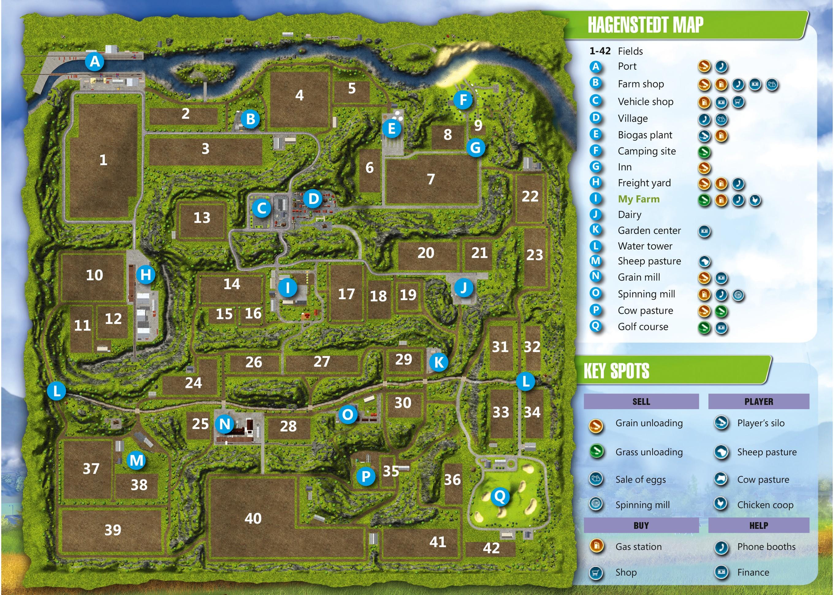 Map Usa Farming Simulator 2013%0A FS EN Map Hagenstedt HD